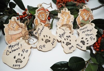 RETIRED Christmas Ornaments (Signed)