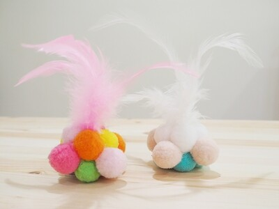 Pip's Pom Pom Set! Now with Feathered Poms!