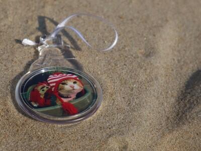 Snowman Photograph Ornament