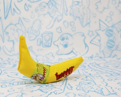 Yeoww!! Banana Catnip Toy (Unpeeled)