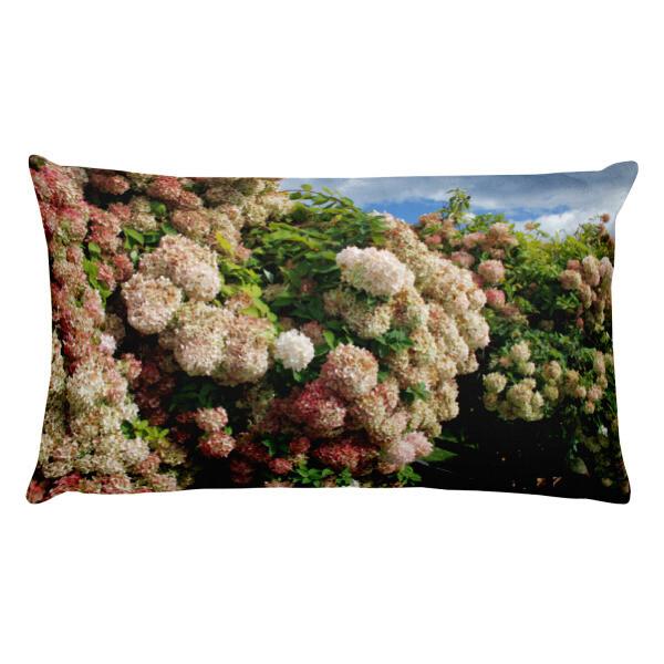 Antique Pink Hydrangea Premium Pillow