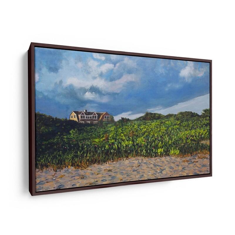 House on Katama Bay | Original Oil Painting