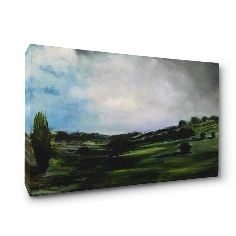 Nottingham Landscape | Print on Canvas