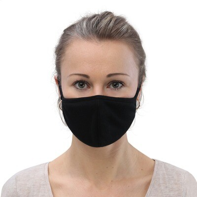 Black Fabric Face Mask (3-Pack)