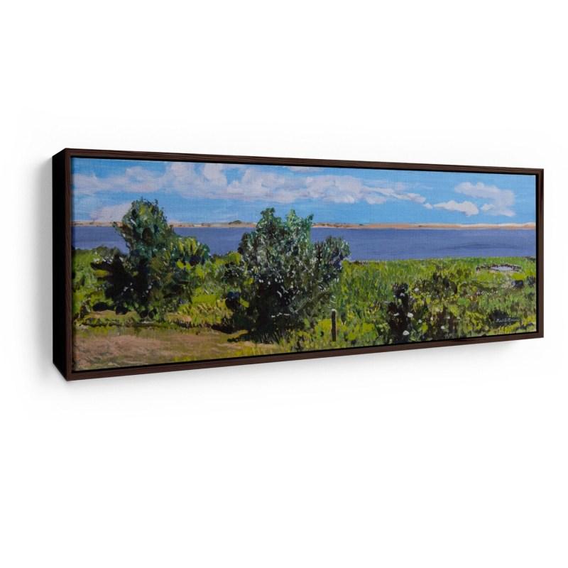 Pocha Pond   Original Oil Painting