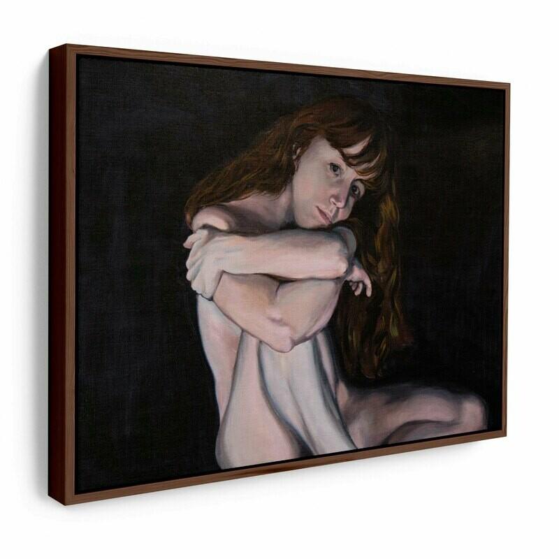 Liv Sage Figure | Original Oil Painting