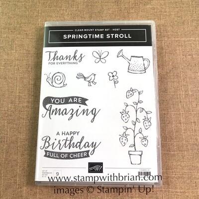 Springtime Stroll Clear-Mount Stamp Set