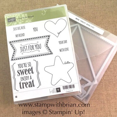 You're So Sweet Wood-Mount Stamp Set