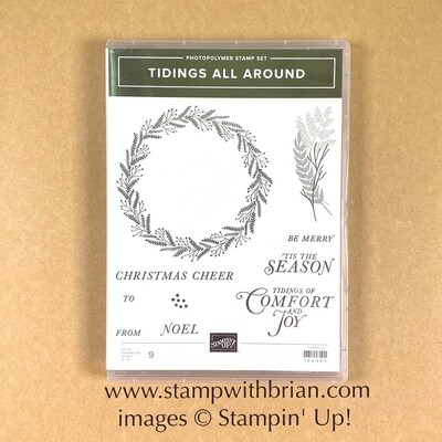 Tidings All Around Photopolymer Stamp Set