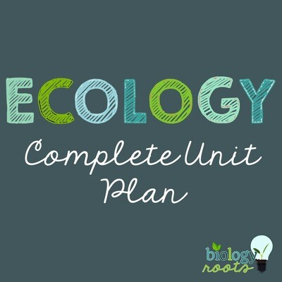 Ecology Unit Bundle - supports digital