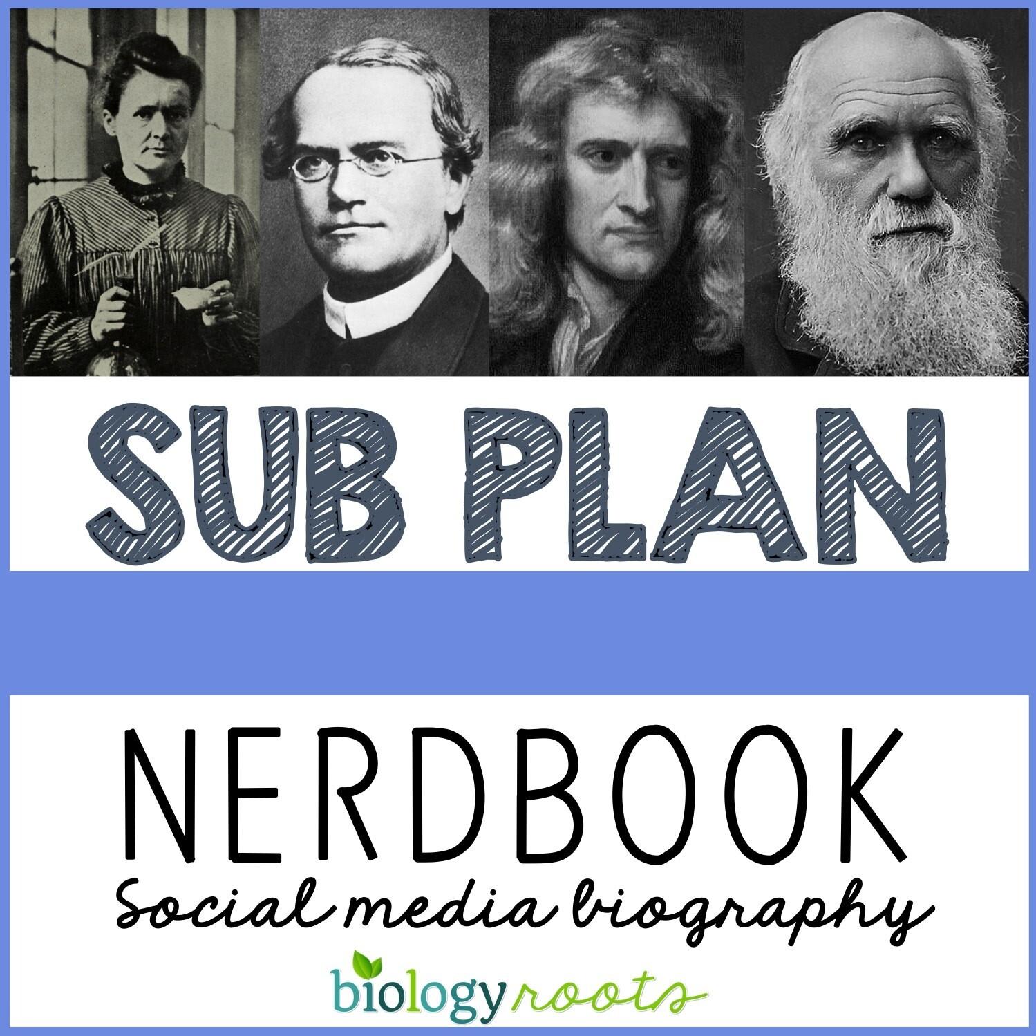 Science Literacy Sub Plan- NERDBOOK