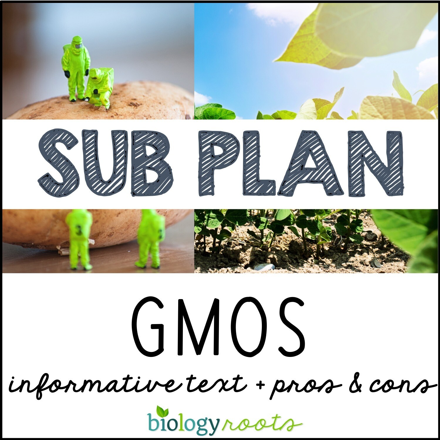 Science Literacy Sub Plan- GENETICALLY MODIFIED ORGANISMS