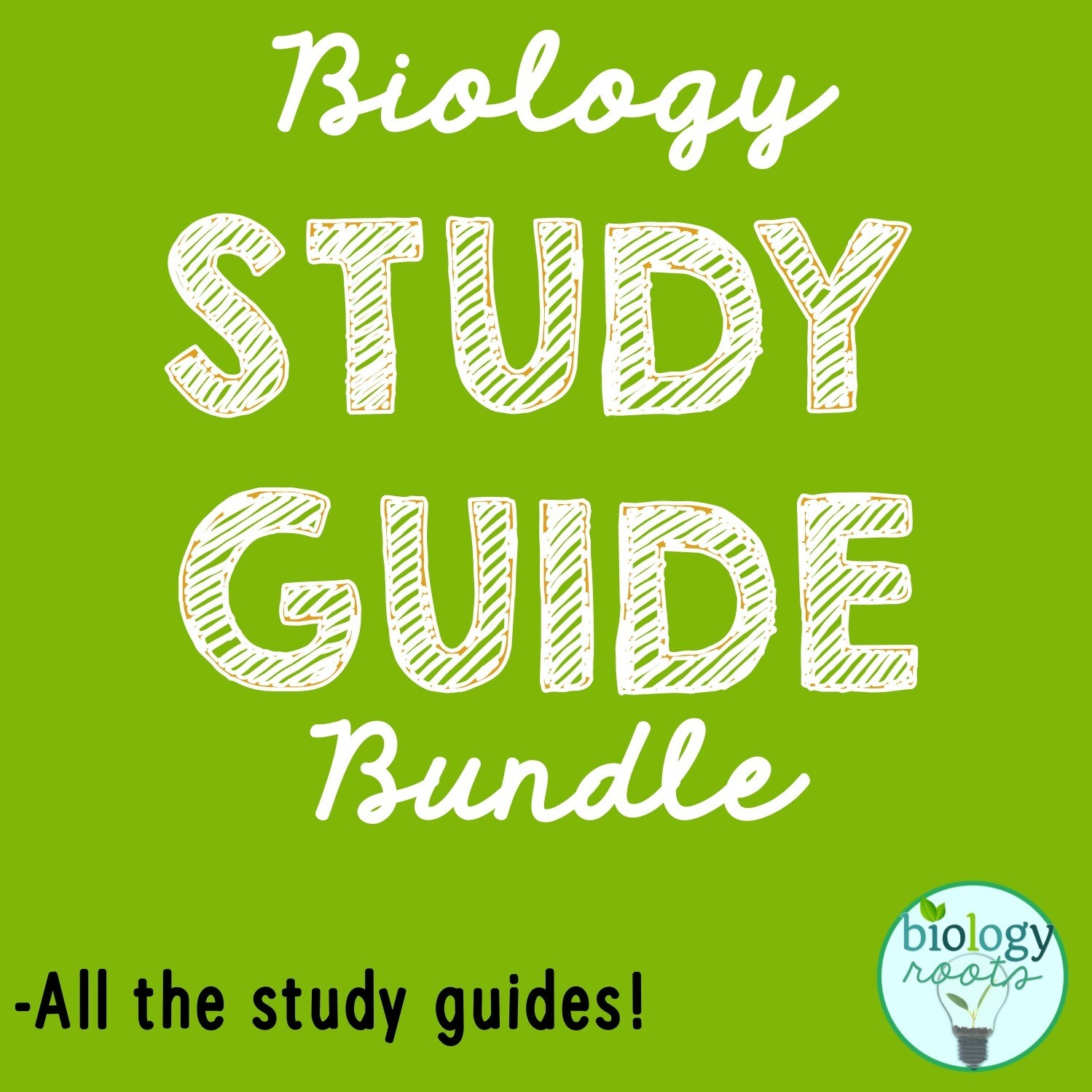 Study Guide Bundle- supports digital