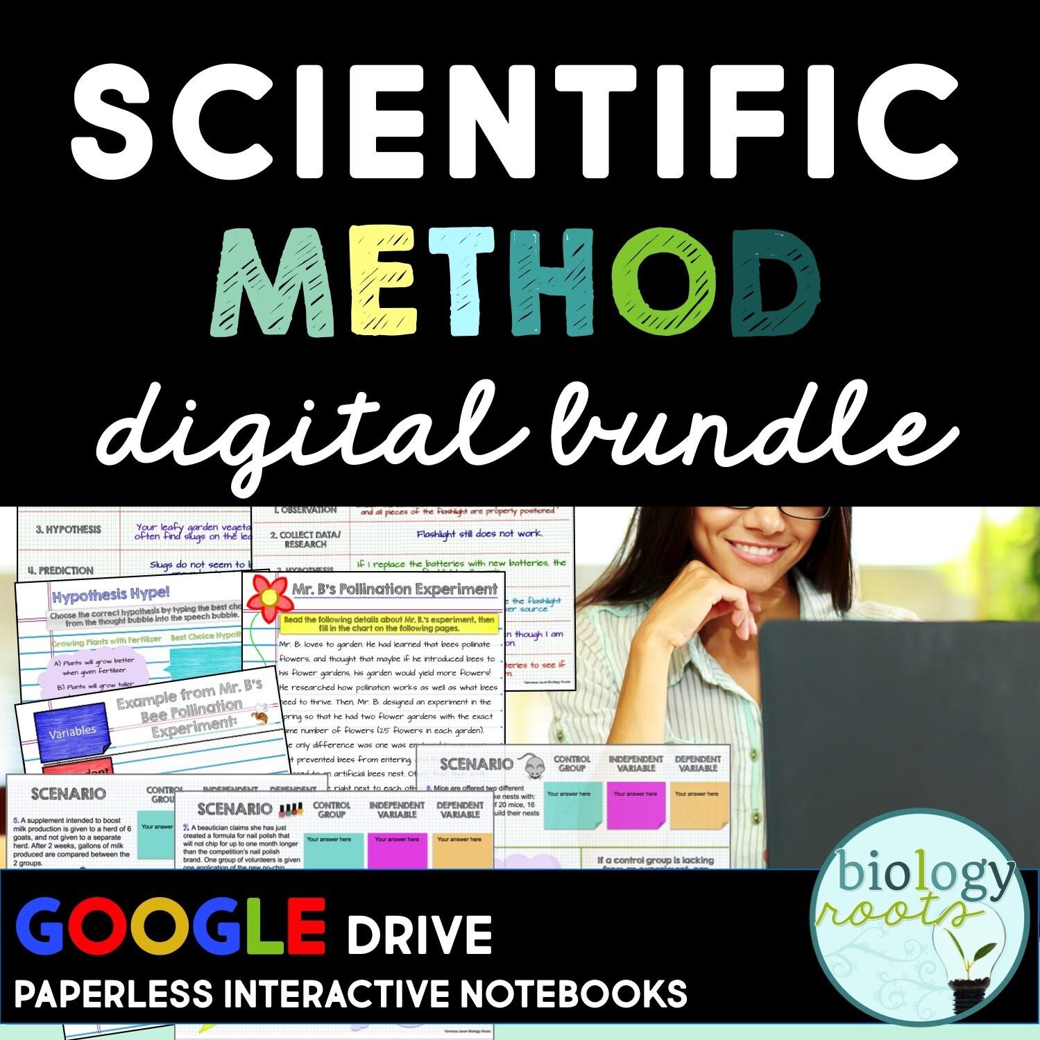 Scientific Method Digital Notebook