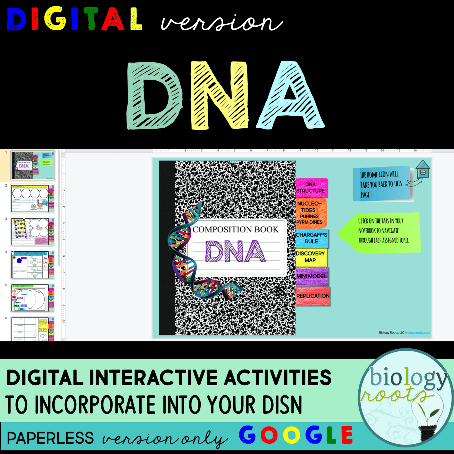 DNA Digital Interactive Activities