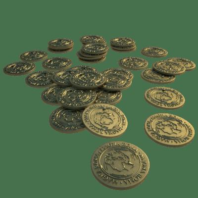 Magna Roma - Metal Coins Set