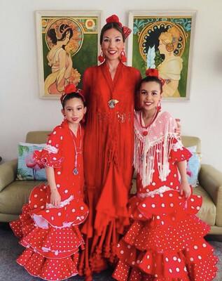 4 Clases Danza Española Infantil