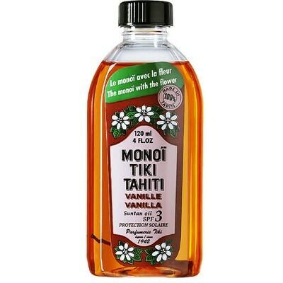 Tiki Tahiti Monoi Vanille Solaire Πολυχρηστικό Λάδι SPF3 120ml