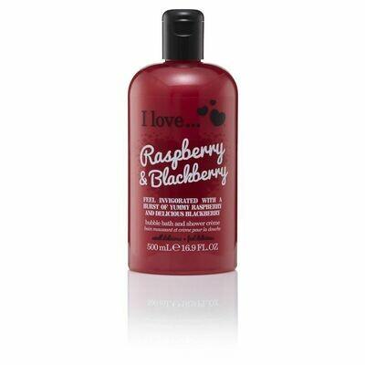 I Love Bubble Bath Αφρόλουτρο Raspberry & Blackberry 500ml