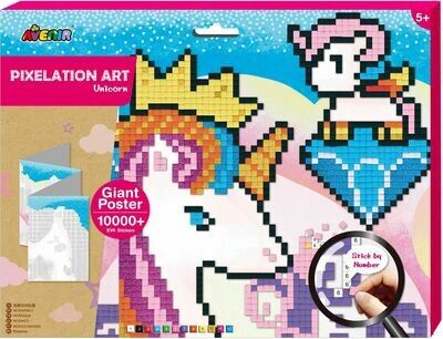 Pixelation Art - Unicorn