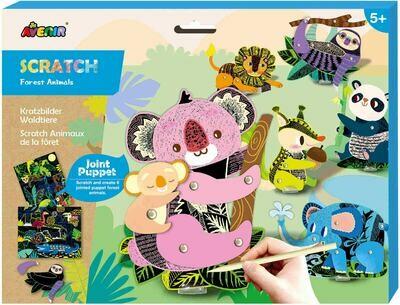 Scratch Puppets- Animals