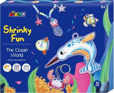 Shrinky Fun - Ocean