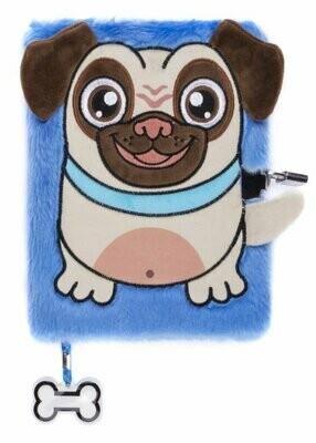 Plush NoteBook - Pug Dog