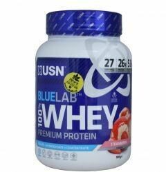 Usn Βlue Lab Whey Protein Φράουλα 908g