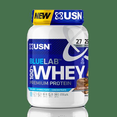 Usn Βlue Lab Whey Protein Chocolate Caramel 908g