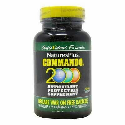 Natures Plus Commando 2000 60tabs