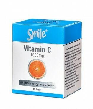 AM Health Smile Vitamin C 1000mg 15 φακελίσκοι