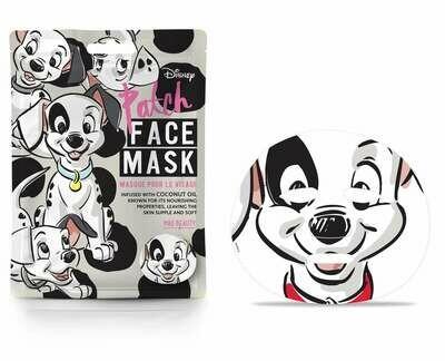 Disney Face Mask 101 Dalmatians Patch