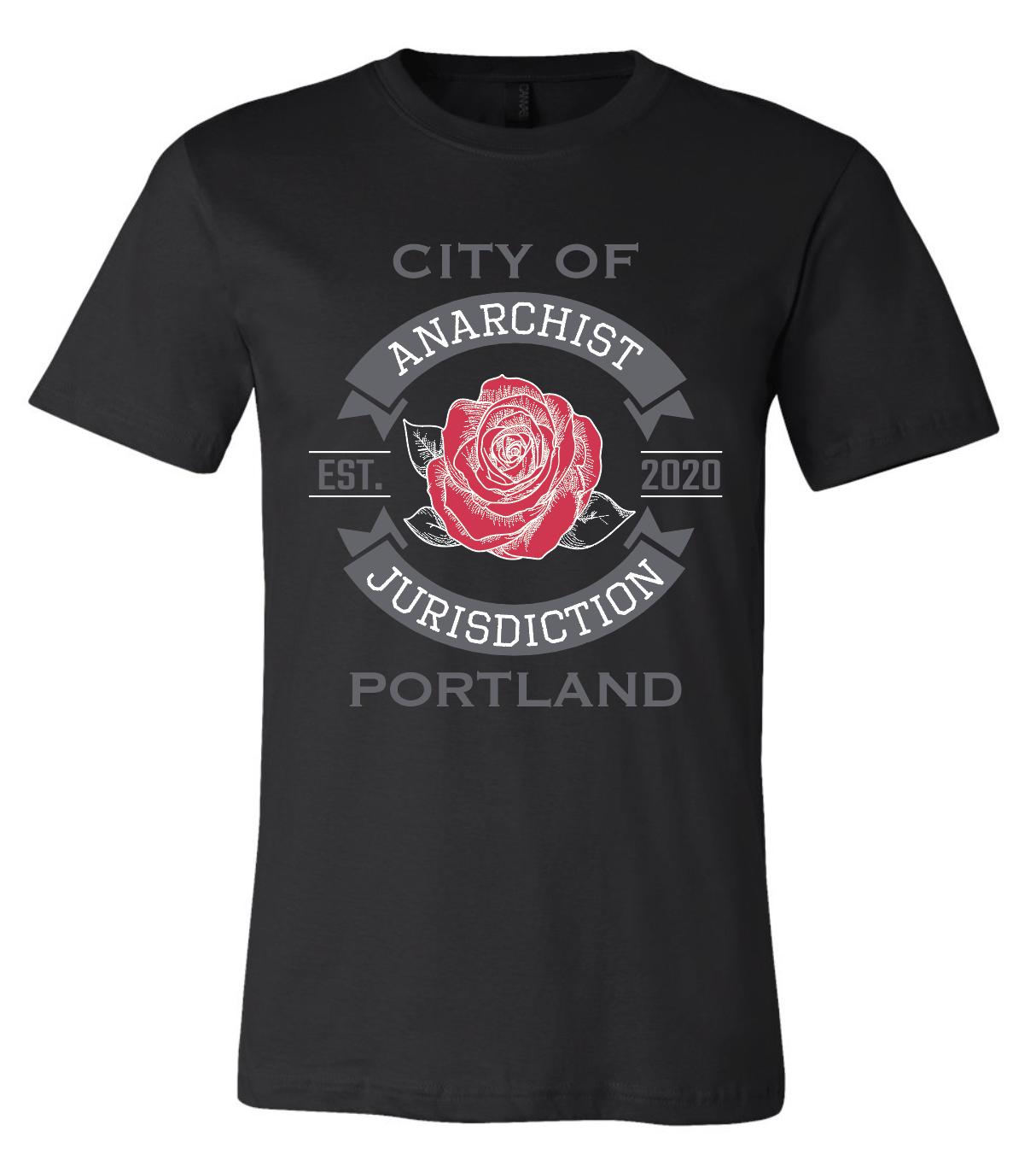 Anarchist Jurisdiction Unisex T-shirt