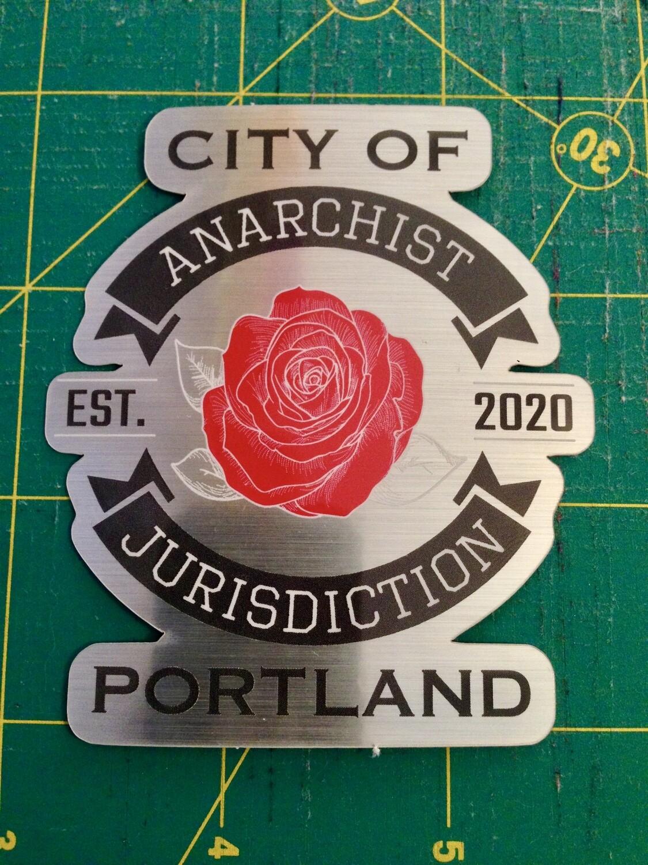 Anarchist Jurisdiction STICKER