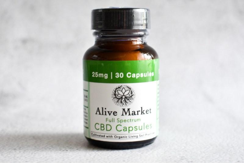 Full Spectrum CBD Capsules | 25mg - 30 Capsules