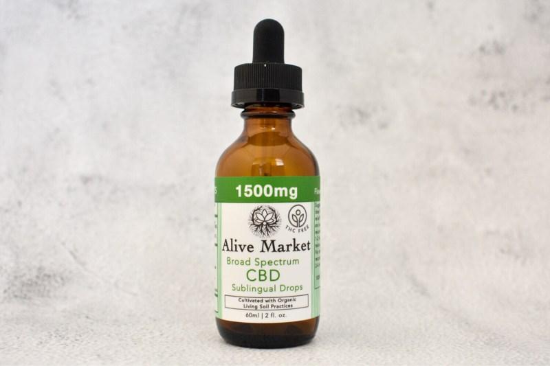1500mg (25mg/ml) Broad Spectrum (THC FREE) CBD Oil | 60 ml