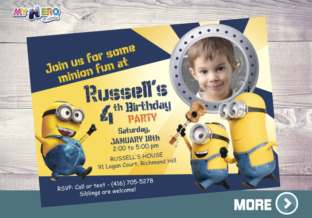 minions birthday invitation minions digital invitation minions virtual birthday minions theme party minions drive by 041