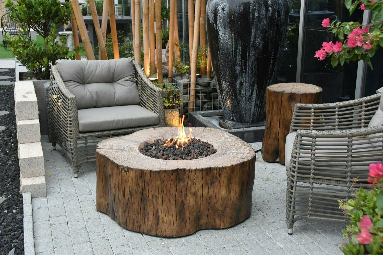 Burning Stump Fire Table