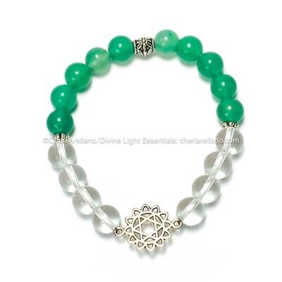 I am Love: Heart Chakra Balancing Bracelet