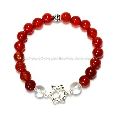 I am Sacred: Sacral Chakra Balancing Bracelet