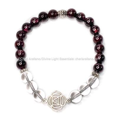 I am Grounded: Root Chakra Balancing Bracelet