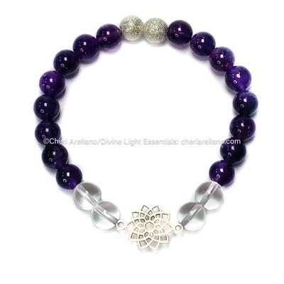 I am Divine: Crown Chakra Balancing Bracelet