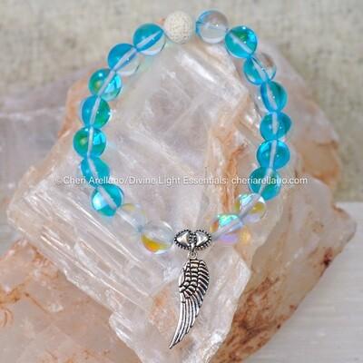 Aqua Aura & Angel Aura Healing Bracelet