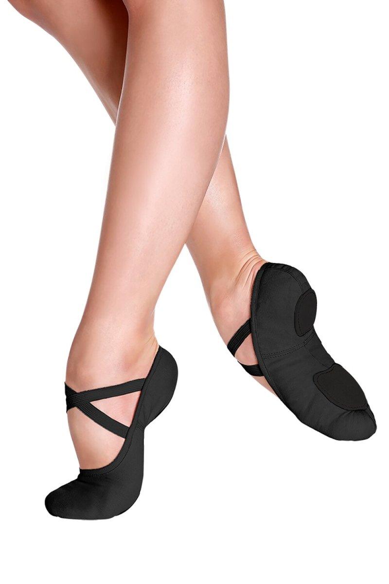 SD16L So Danca Adult Canvas Ballet Flat