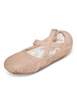 S0246L Bloch Adult Ballet Slipper No Drawstrings