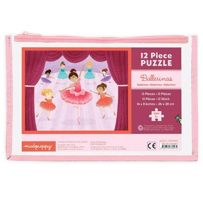 Pouch Puzzle Ballerinas