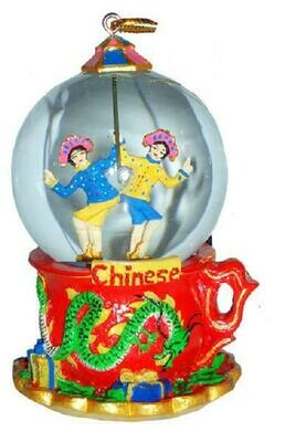 Mini Chinese Snow Globe