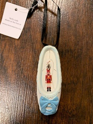 Clara Nutcracker Ornament