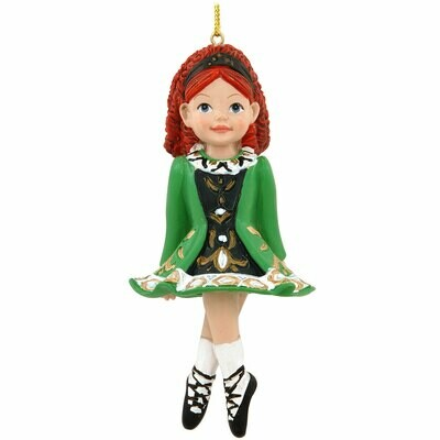 Irish Step Dancer Ornament