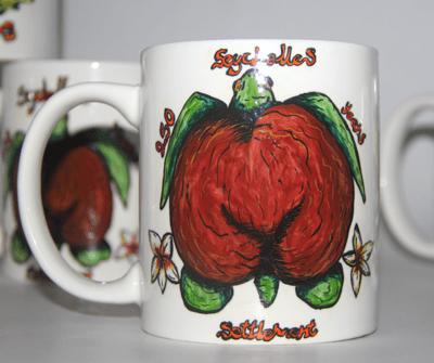 Coco de Mer Tortoise Mug